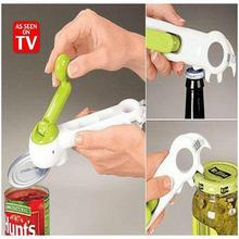 One Touch Kitchen Can Opener Can Do Bottle Opener 6 In 1 Creative Convenience Tool(China)