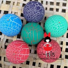 2015 NEW 100pcs Crack Paint Kendama Ball Skillful Juggling Game Ball Japanese Traditional  Balls  For Adult Gift