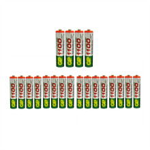 Hot Sale 20pcs High Power AAA 1100/1.2V For GP Rechargeable NiHM Battery 1100 mAh New Batteries+Free Shipping 500mah(China)