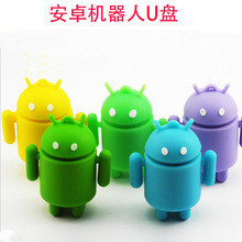 100% real capacity pen drive cartoon cute Android robot 4gb/8gb/16gb/32gb usb flash drive memory stick pendrive gifts