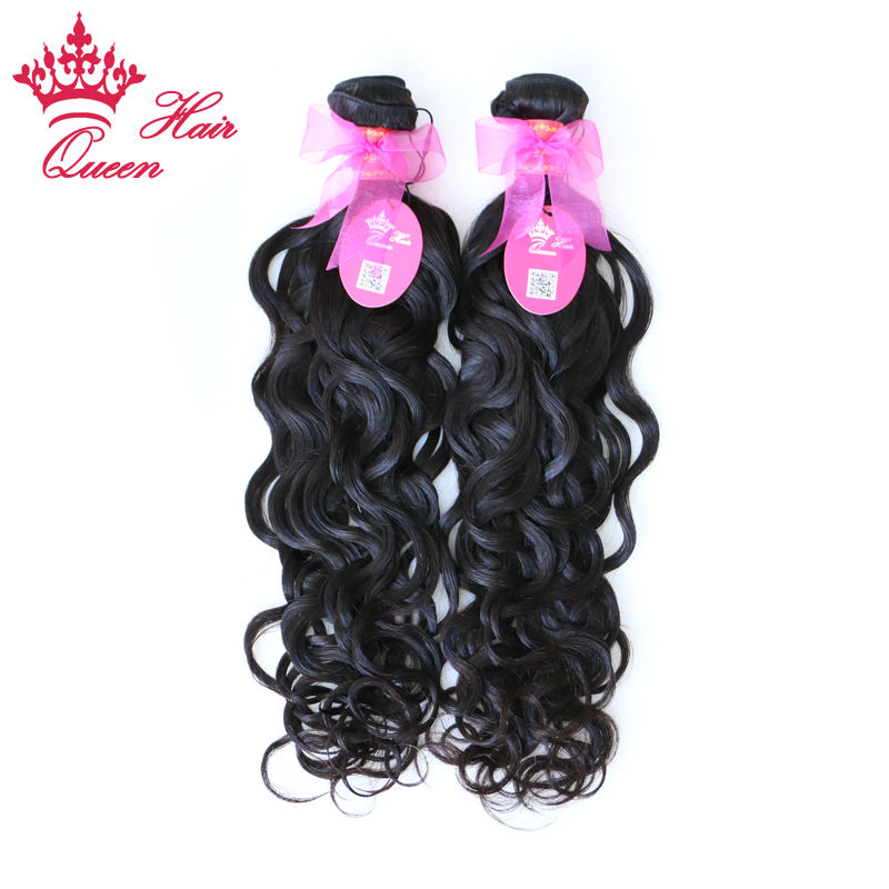 Queen Hair Products Unprocessed 100% Brazilian Virgin Hair Natural Water Wave 2pcs lot,Grade 7A, Free Shipping By DHL 12-28<br><br>Aliexpress
