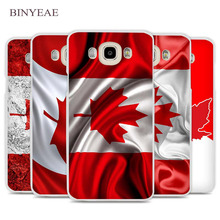 BINYEAE Canada Flag Phone Case Cover for Samsung Galaxy J1 J2 J3 J5 J7 C5 C7 C9 E5 E7 2016 2017(China)