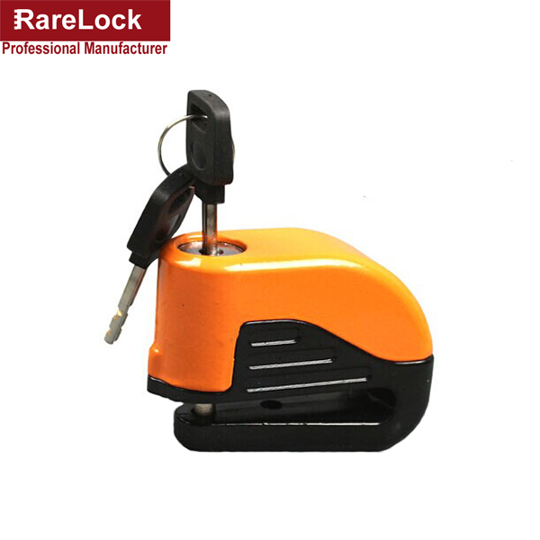 Rarelock 3 Color Steel Antitheft Bicycle Mountain Vehicle Motorcycle Locks Disc Brake Lock With Alarm Function a<br><br>Aliexpress