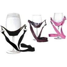 Горячая уникальный Дизайн вина кокетка шнурки Стекло держатель Поддержка Бретели для нижнего белья для мам день подарки на день рождения п...(China)