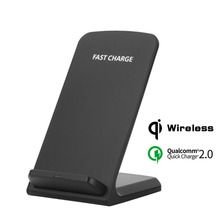 Buy Qi Fast Wireless Charging Pad Charger 10W Qi Charger Wireless Phone Charger iPhone 8 8 Plus Samsung Galaxy S8 S7 Edge Note 8 for $13.05 in AliExpress store