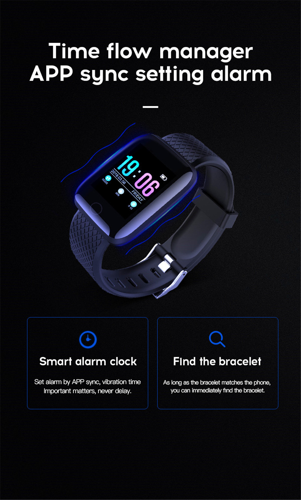 18-130435- Smart Watch Men Blood Pressure Waterproof Smartwatch Women Heart Rate Monitor Fitness Tracker Watch GPS Sport For Android IOS