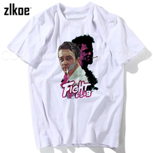 Fight Club T shirt 2017 Mens Fashion Brad Pitt tops tees man t shirts plus size men shirt XXXL