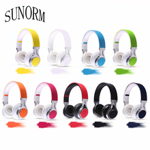 New SUNORM E6 factory direct folding music phone computer headset with microphone bass headphones give the child the best gift