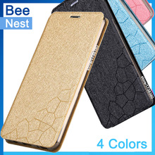 Case For ZTE Nubia Z9 Mini Case Cover Bee-Nest Style Flip PU Leather Phone Protective Cover For ZTE Nubia Z 9 Mini Z9Mini Case