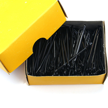 120Pcs Black Invisible Hair Clips Girls' Hairpin Wave Straight Pins Grips Barrette Women Hair Accessories Hairpin For Alloy H20(China)