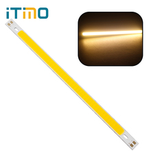 200 x 10MM LED Strip Light Lamps Bulb High Quality 10W 1000LM Super Bright For DIY Warm White Pure White COB 12V(China)