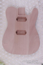 1pcs electric guitar Body solid wood Unfinished production Replace mahogany  #Y199