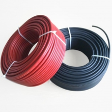 solar photovoltaic cable 1X6mm2 solar cable battery components cable(China)