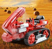 Low Price KDW 1:18 Caterpillar Creeper Chain-track Tractor Model Diecast Pull Back Machine Kid Toys Gift Collection Brinquedos(China)