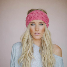 Fashion Knitted Hair Band Headband Elastic Headwear for Women Winter Warm Hat Hair Accessories for Female