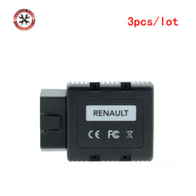 3pcs/lot Best Diagnostic and Programming Tool For Renault-COM Bluetooth Interface For Renault Replace of Renault Can Clip