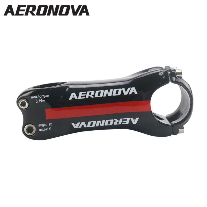 Racing Stem AERONOVA Carbon Road Stem 31.8mm UD Ca...