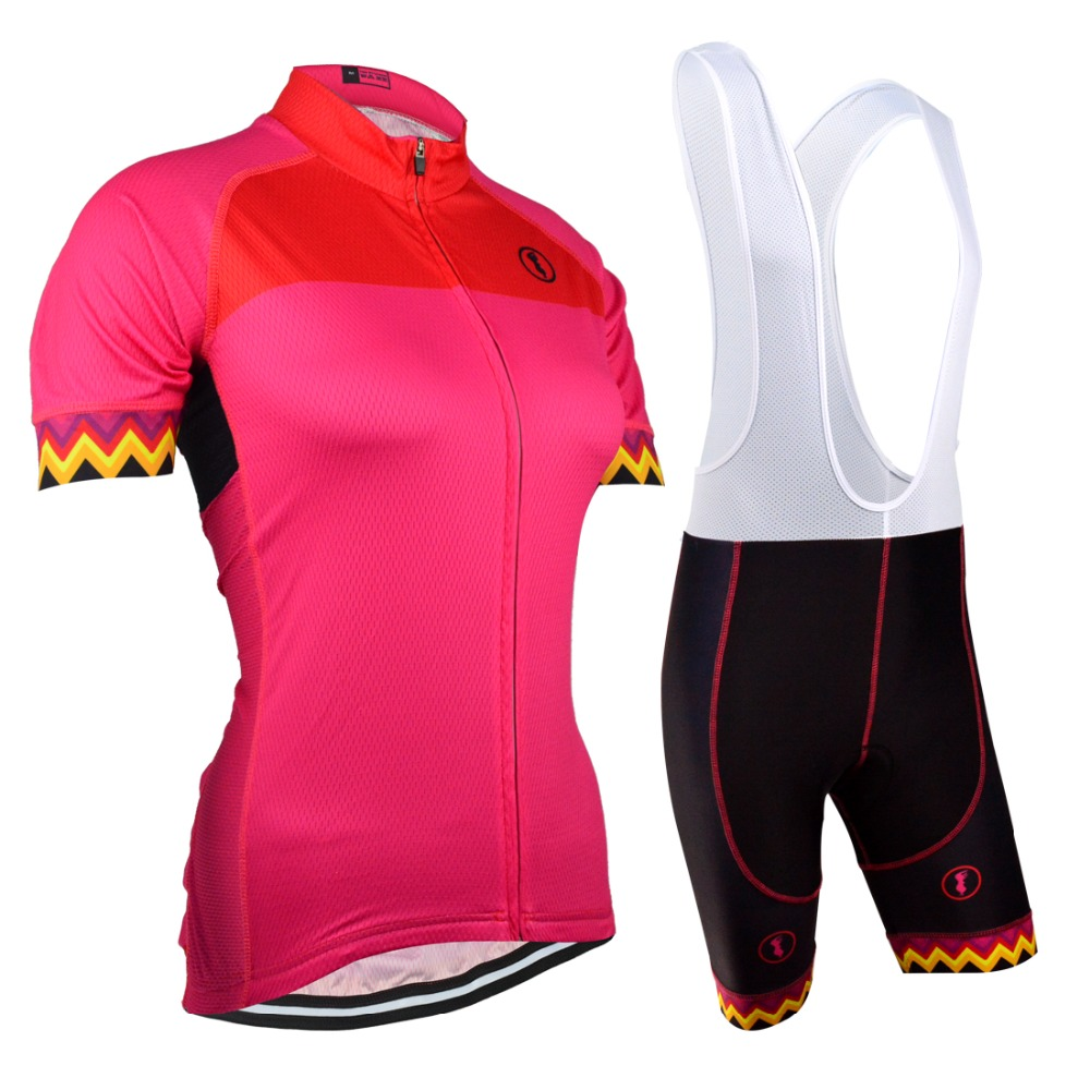 EU Brand BXIO Women Cycling Jerseys Seamless Stitching Short Sleeves Pro 5D Gel Pad Short Bicycle Clothing Maillot Ciclismo 128<br><br>Aliexpress