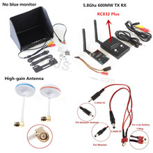 FPV Combo system 5.8Ghz 5.8G  600mw TS832 Transmitter TX RC832 Plus Receiver RX No blue monitor for Gopro SJ4000 QAV250 DJI