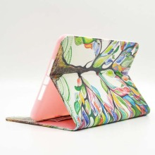 Buy Colorful Print Wallet Book Card Holder Business Cover Shell Stand Protector PU Leather Case Apple ipad mini 4 Mini4 Tablet for $10.21 in AliExpress store