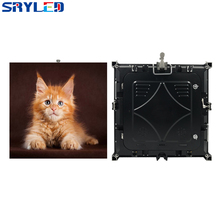 High Brightness P6 Outdoor Waterproof IP65 Die-casting Aluminum Full Color LED Cabinet 576mm x 576mm