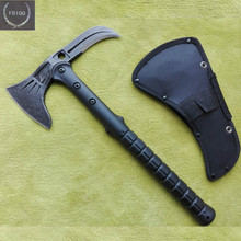 Outdoor Survival Tomahawk Axe tactical Cold Ice ax Multifunction Axes Scrub Camping firefighting Hand Tool Steel Hatchet Machete(China)