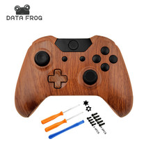 Hydro Dipped Woodgrain Controller Shell For Microsoft Xbox One 1 Controller Shell Mod Kit For x box one controller wireless