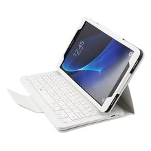 Detachable Wireless Bluetooth Keyboard Case Cover For Samsung Galaxy Tab A 10.1 2016 T580 T585 T580N T585N PU Leather Stand Case