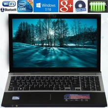8GB RAM+60G SSD and 320G HDD Intel Core i7 Dual-core Laptops 15.6inch 1920x1080P Windows 10 Notebook With DVD-RW For Office Home(China)