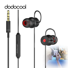 dodocool 3D Earbuds Virtual 5.1 Surround Sound Stereo Earphones with Mic Gaming Headphone for VR Glasses PC Gaming Headset