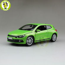 1/24 VW Volkswagen Scirocco Welly 24007 Diecast Model Car Green(China)