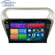 New 1024*600 Quad Core 10.2inch Android 4.4 Car Radio for Citroen Elysee 2014- With Bluetooth 16GB Flash Nand Wifi Mirror Link