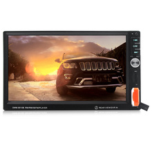 SWM-8010B 7 Inches Bluetooth Car MP4 MP5 Player Stereo Audio 1080P Video Player with FM Radio Rear View AUX IN Remote Control(China)