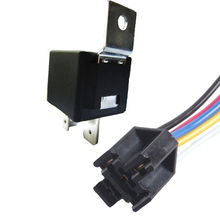 EE support Car Auto Truck Alarm 12V Volt DC 40A AMP Relay & Socket SPDT 5Pin 5 Wire Sales XY01(China)
