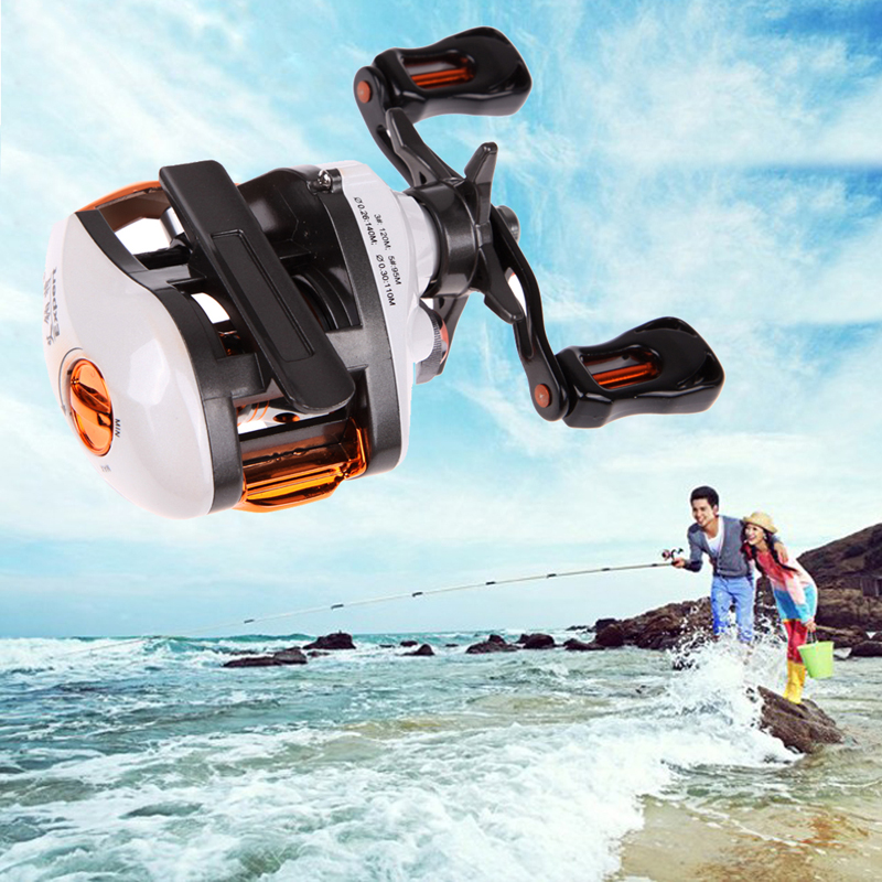 New 12+1 BB Baitcasting Reel Fishing Fly with Magnetic Brake System 6.3:1 left Hand Fishing Reels EA14<br><br>Aliexpress