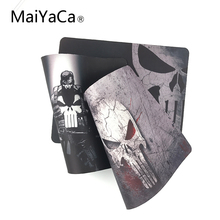 MaiYaCa Quality Customized Marvel Comics Punisher Mask Game Gaming Durable Mouse Mat PC Computer Mouse Pad Laptop Mat to Mouse(China)