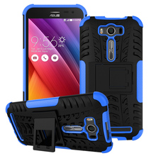 Kickstand Phone Case Cover For Asus Zenfone2 Laser ZE500KL Case ASUS_Z00RD Zenfone 2 Laser ZE500KG 5.0 inch Case 2 in 1 Hybrid