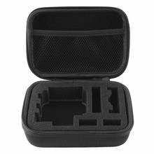 New Portable Carrying Case Pouch Bag Cover Zip Black for Digital Camera GoPro Hero 1/2/3/ 3+ Easy to Carry Shell