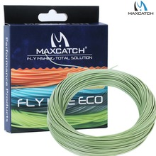 Moss Green Fly Line WF 2/3/4/5/6/7/8F Weight Forward Floating Fly Fishing Line with Line Box