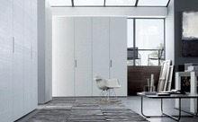 White wood wardrobe swing door(China)