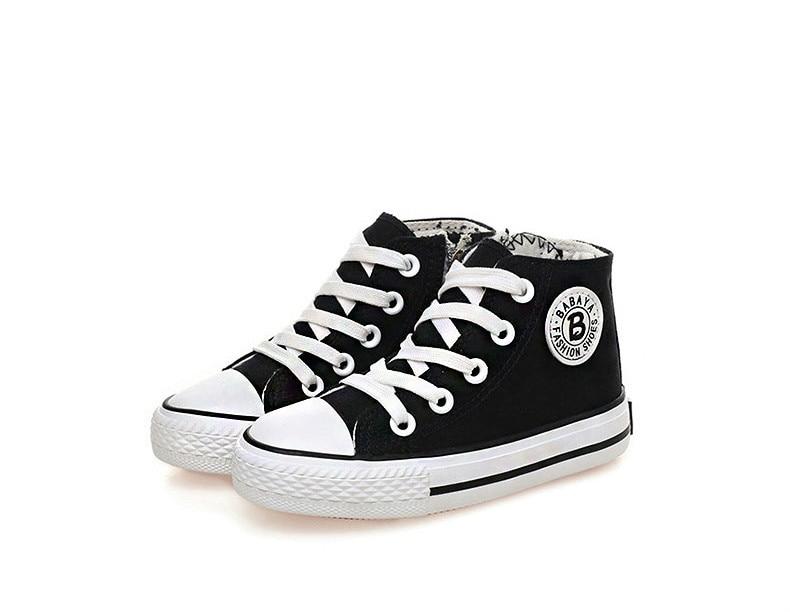 Enfants chaussures pour fille enfants toile chaussures garçons 40
