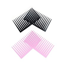 800 X Pairs Fashion Car Styling Decal Black Eyelashes Vehicle Car Headlight Decorative Sticker 3D Charming Black Car Eyelashes