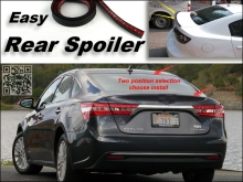 Root / Rear Spoiler For TOYOTA Avalon / Pronard Trunk Splitter / Ducatail Deflector For TopGear Fans Easy Tuning / Free Modeling