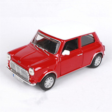 Kids toys 1:32 Scale car model 1969 mini cooper  toy cars model car Decoration Diecast Car Models Toys for boy w openable door