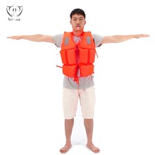 General Purpose Boating Life Vest Universal Adult Foam Lifejacket Swimsuit Vest with A Whistle ZS8-71(China)