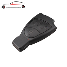GORBIN Replacements 3Buttons Smart Remote Key shell Mercedes Benz B C E ML S CLK CL 3B 3BT Fob Case Cover