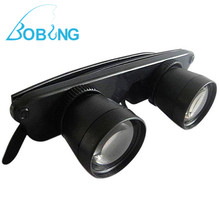 Bobing 3x28 Fishing Optics Binoculars Telescope Magnifier Glasses Style Opera Theater 3X Magnification Pesca Tackle Eyewear