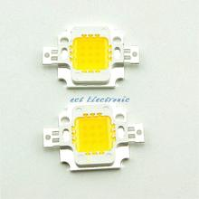 Double gold wire high brightness Warm white 10W High Power LED integrated light source lamp beads(China)