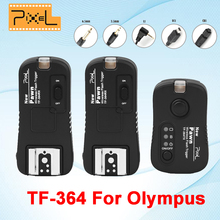 Pixel Pown TF-364 Wireless Remote Control Shutter Release Flash Trigger 1* Transmitter & 2* Receiver For Olympus Panasonic Gf1