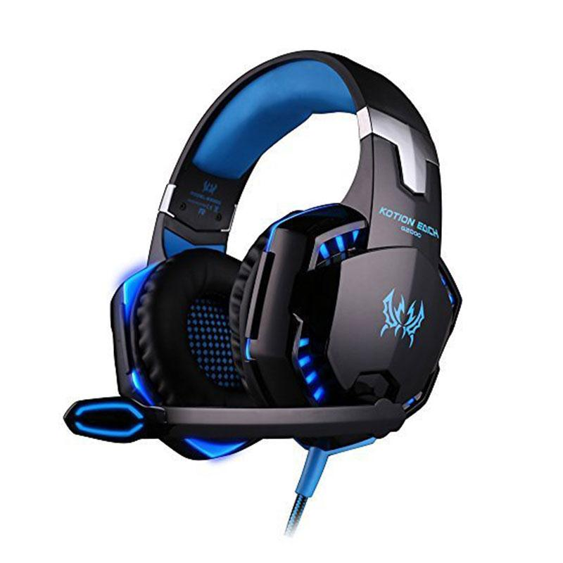 3.5mm Wired Game Over Ear Stereo Bass Gaming Headphones Headset Earphone With Microphone LED Light For Laptop Tablet for PS4<br><br>Aliexpress